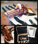'Copper Watusi Froggy' wrist Gatling gun by Arsenal-Best