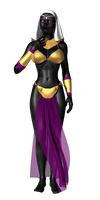 Queen Tyr'Ahnee Test by Sailmaster-Seion