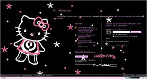 Hello Kitty Mac Hotmail by LadyPinkilicious