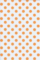 Orange Polka Dots by BelovedStock