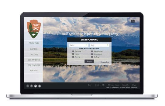 National Park Service Website by FIRSTxAIDxKIT