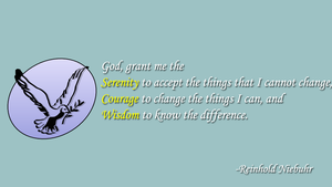 The Serenity Prayer by JanetAteHer