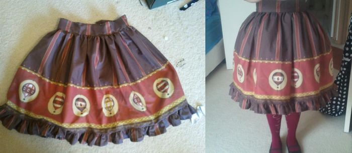 Steampunk Lolita Skirt by sailor-midnightstar