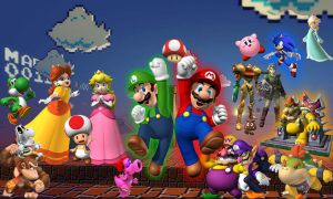 Super Mario With Friends by lordi114