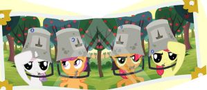 CmC crew Buckets by Scootalo0