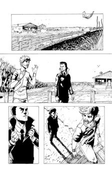 Terminus issue 2 page 2 ink by diabolicol