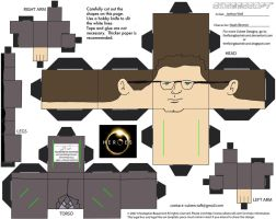 Heores2: Noah Bennet Cubee by TheFlyingDachshund