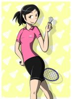 Badminton by Atomicflare