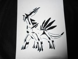 Dialga the Master of Time by TheSuperiorSpiderMew