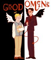 Good Omens by tiosmio25