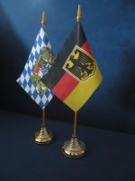 German and Bavarian flag by Arminius1871