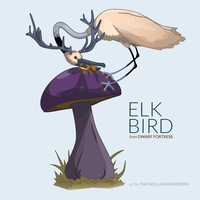 Dwarf Fortress: Elk Bird by TheWilliamAnderson