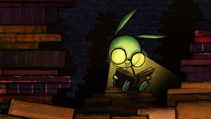 Book Worm by AtomicRay
