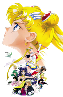 Sailor Moon S Film 2 Render by anouet