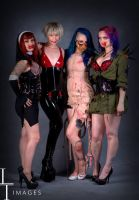 Sin Girls at Scarefest by miss-zombi