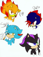 Favorite Fan Characters of DA by Roguedome