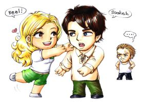 2010 :: True Blood - Bill and Sookie by PinkAppleJam