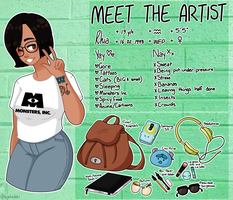 Meet The Artist: 2k17 by kyatsukki
