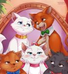 The Aristocats by Vermeilbird