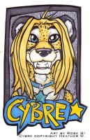 Badge - Cybre by misako