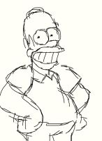 Homer Simpson by BThomas64