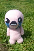 Crying Isaac - Binding of Isaac plush - plushie by arteclair