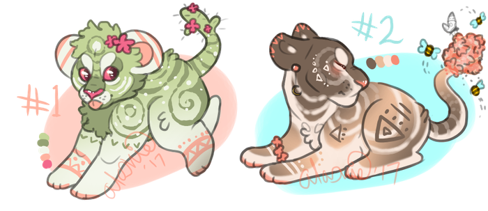 Summer Cubbin' {OPEN ADOPTS} by Autumnal-Husky