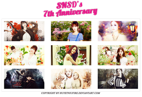 [Pack Signatures] SNSD's 7th Anniversary by huyetniufire