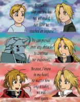 Brothers - Fullmetal Alchemist by edwinluvr