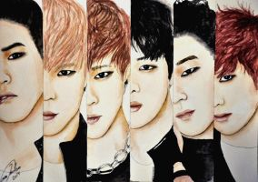 B.A.P (contest) by TheCorinna