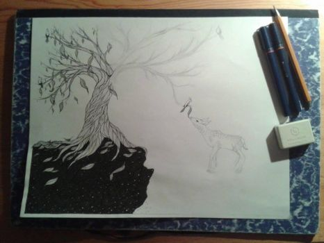 WIP - The Tree of the Universe by Itebu86