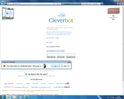 CLEVERBOT WANTS TO KILL ME~ D: by DEMONIC-RICOCHET