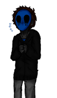 Eyeless jack sketch by petLime-nya