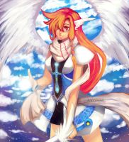 Magic Knight Contest: Angelic Warrior by Lotadd