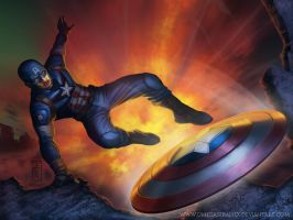 ArtJam: Marvel Universe Characters by omegaseraphx