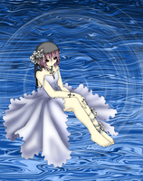 Water Spring Lily by Gwenyver