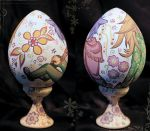 Easter Loveless egg backgrounds by Mimioni