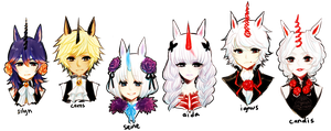 OCs -- Unicorns, line up!! by onisuu