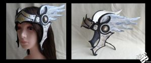 Valkyrie Leather Headpiece in black by senorwong