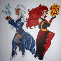T: Fire And Ice by Spyfox207
