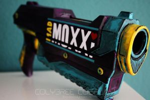 Mad Moxxi Nerf Gun by ColybreeCos