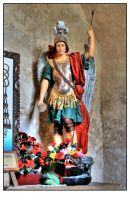 Mission Concepcion Angel HDR by shawn529