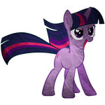 Fractal Flame Effect Twilight Sparkle by uxyd