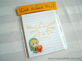 Link (LoZ) Notepad by MyFebronia