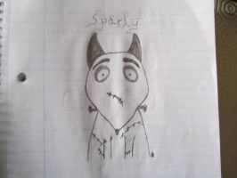 Sparky from Frankenweenie by GreenDayFanGirl