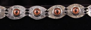 Fox Eye Bracelet by SoulStoneDesigns