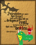 Dragon quote poster by RandomVanGloboii