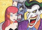 Barbara Gordon, The Joker and Two-Face by neo-sunglasses