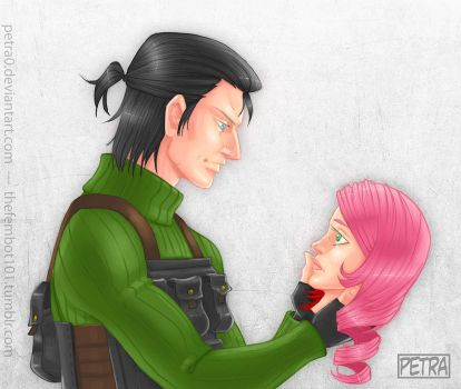 Dragunov and Alisa by Petra0