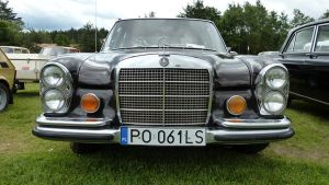 Mercedes Benz W108 (280SEL) - Front by Arek-OGF